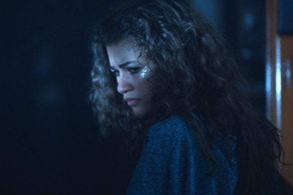 Euphoria Zendaya. photo: HBO